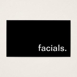 Facial Business Card