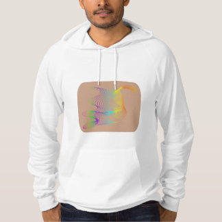 Facial expressions in color hoodie