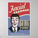 Facial Grammar. An ASL classroom poster.