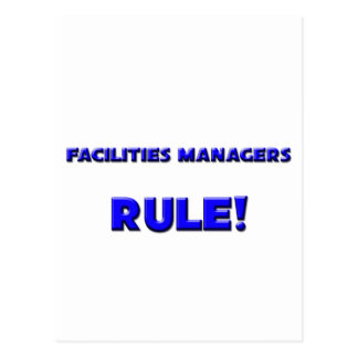Facilities Managers Rule! Postcards