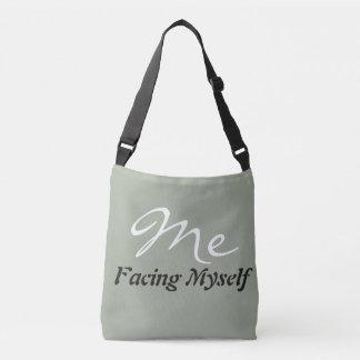 Facing myself tote bag
