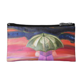 Facing The Storms Small Cosmetic  Bag