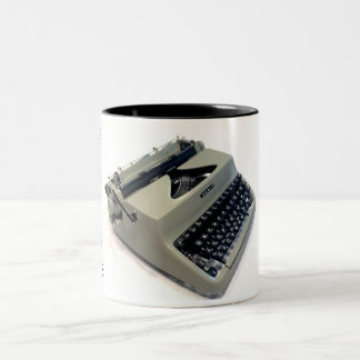 Facit TP1 typewriter Two-Tone Coffee Mug