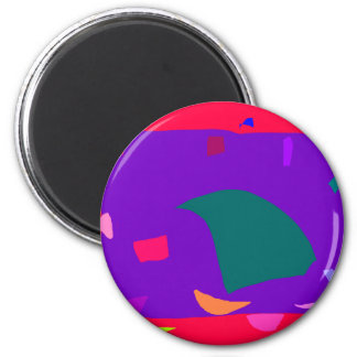 Fact Excavation Research Endless Rain Frog 6 Cm Round Magnet