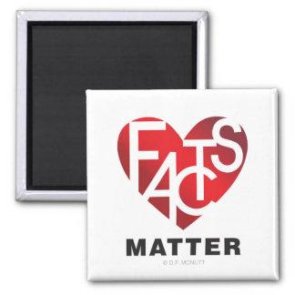 Fact Lover's Heart Magnet