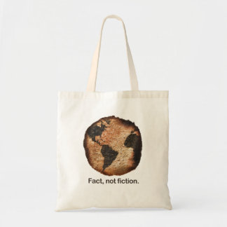Fact Not Fiction Tote Bag