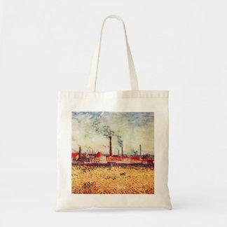 Factories by Vincent van Gogh Bags