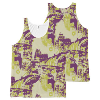 Factory All-Over Print Singlet