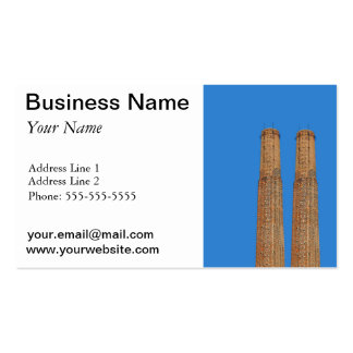 factory chimney business cards