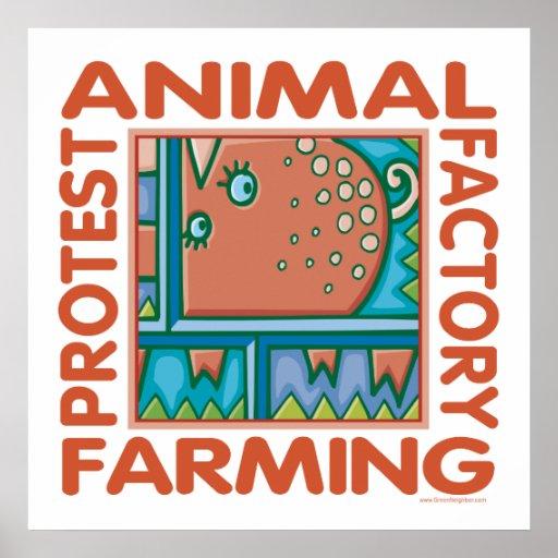 Factory Farming Print