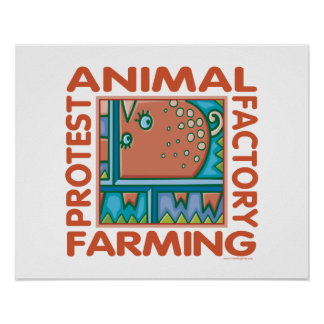 Factory Farming Poster