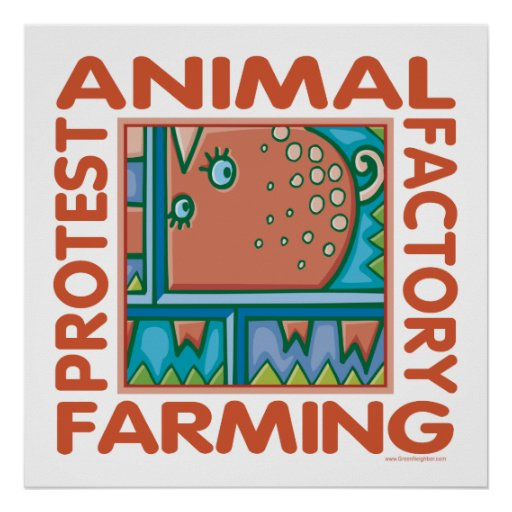 Factory Farming Posters