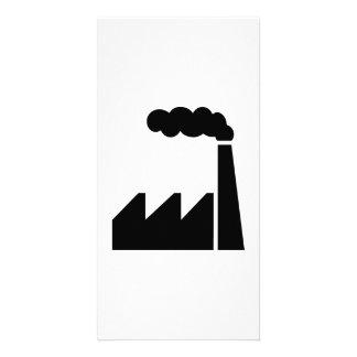 Factory logo photo cards