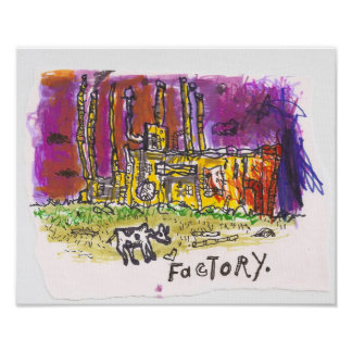 factory poster