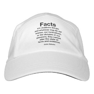 Facts Are Stubborn Things. Resist Trump! Hat
