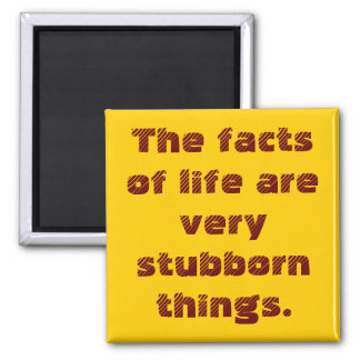 Facts of LIfe Square Magnet