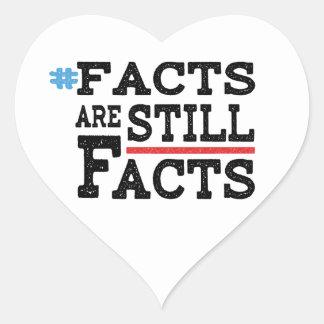 #FactsAreStillFacts Heart Sticker