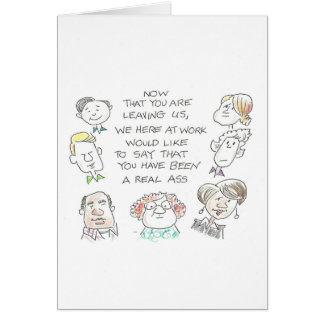 Faculty retire greeting card