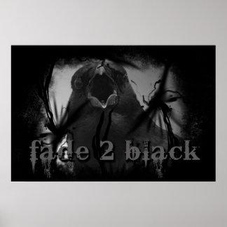 Fade 2 Black Crow Poster