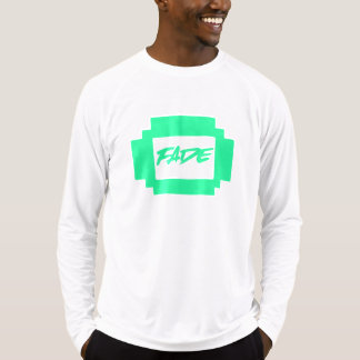 Fade Green Rectangle Long Sleeve Tee