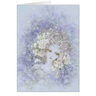 Fade to White Greeting Card
