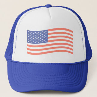 FADED AMERICAN FLAG HAT
