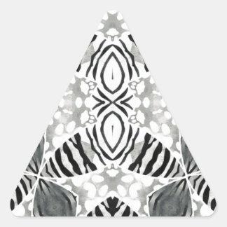 Faded Animal Print Triangle Sticker