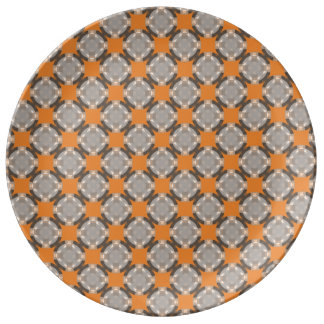 Faded Circle Grid by Kenneth Yoncich Plate