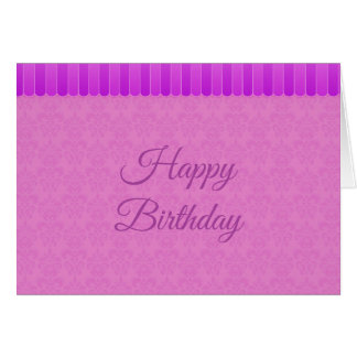 Faded Damask 4 Card