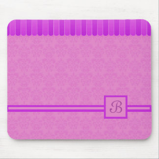 Faded Damask 4 Mouse Pad