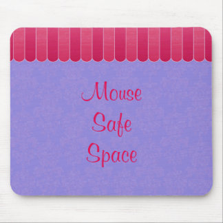 Faded Damask 8 Mouse Pad