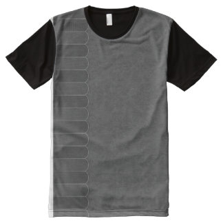 Faded Damask 9 All-Over Print T-Shirt