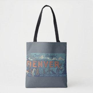 Faded Denver Tote Bag