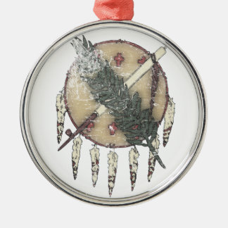 Faded Dreamcatcher Metal Ornament