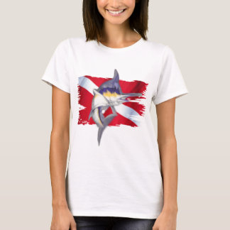 Faded Fish Collection by DiversDen T-Shirt