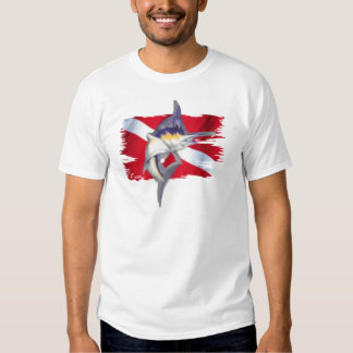 Faded Fish Collection by DiversDen T Shirt