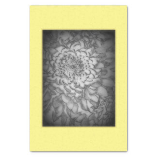 FADED FLOWER TISSUE PAPER