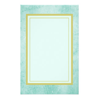 Faded Green Vintage paper texture Stationery