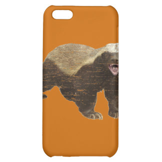 Faded Honey Badger Case For iPhone 5C