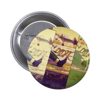 Faded Memories Pinback Button