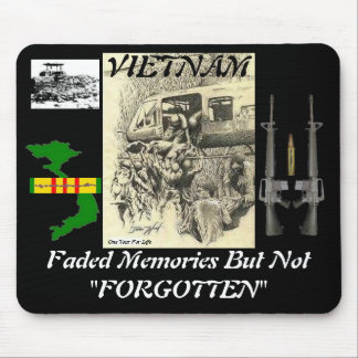 """Faded Memories But Not """"FORGOTTEN"""" MousePads"""