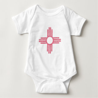 Faded New Mexico Baby Bodysuit