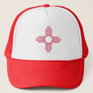 Faded New Mexico Trucker Hat