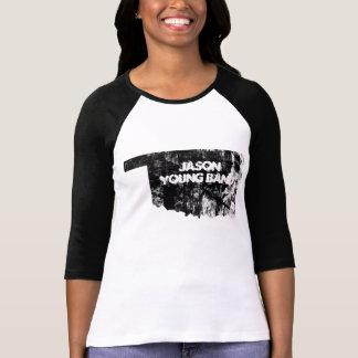 Faded Oklahoma 3/4 Sleeve Jason Young Band T-Shirt