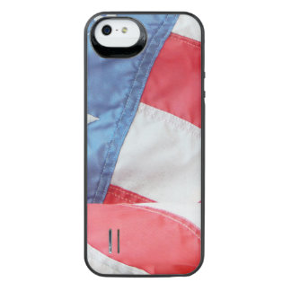 Faded Old Glory iPhone SE/5/5s Battery Case