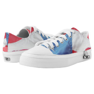 Faded Old Glory Printed Shoes