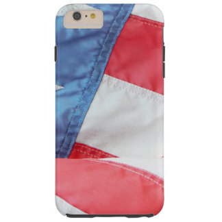 Faded Old Glory Tough iPhone 6 Plus Case