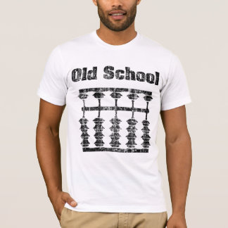 Faded Old School Abacus Shirt