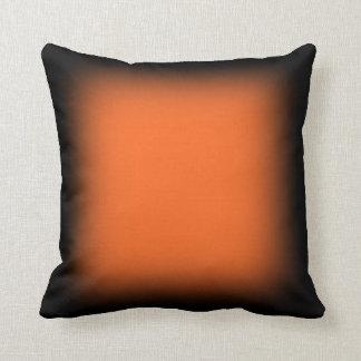 Faded orange cushion