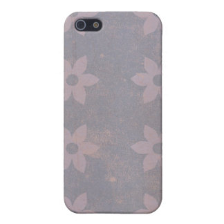 Faded Purple Violets iPhone4 Case iPhone 5/5S Cover